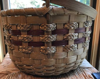 Hand made basket.