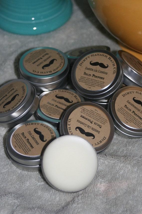 Love's First Kiss Fragrance Solid Perfume 1 oz Tin