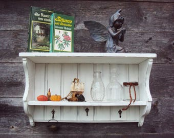 Bookcase, 60x35x20, kitchen rack Rustic House Shabby 60x35x20 * pattern *
