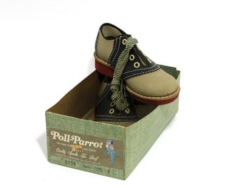 Vintage Children's Shoes Never Worn Size 9