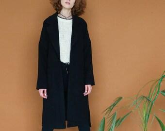 Essential black winter coat