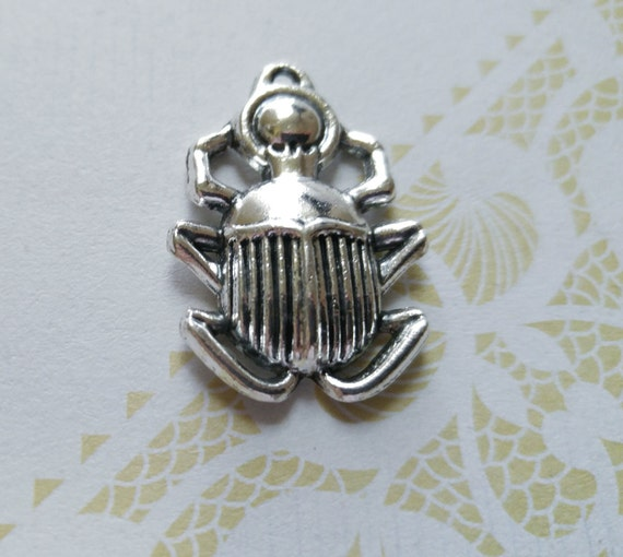 Scarab charm scarab pendant egyptian pendant egypt pendant silver scarab charm scarab pendant egyptian pendant egypt pendant silver scarab charm ancient egypt beetle charm insect charm from theslipperypearl on etsy studio aloadofball Gallery