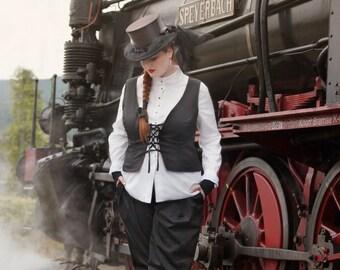 Reversible Vest Black/altrose Gr. 42/44