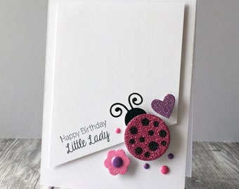 Little Ladybug Birthday Card