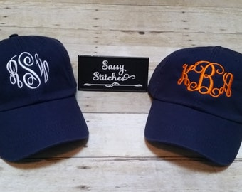 Womens Monogrammed Hats Monogrammed Visor Custom hats 9ad782440a43