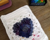 Crochet Book Sleeve, Croc...