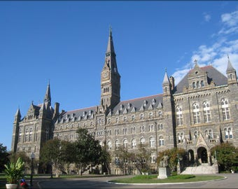 Poster, Many Sizes Available; Georgetown University 24