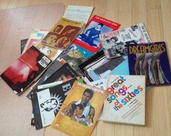Sheet Music, Song Sheets