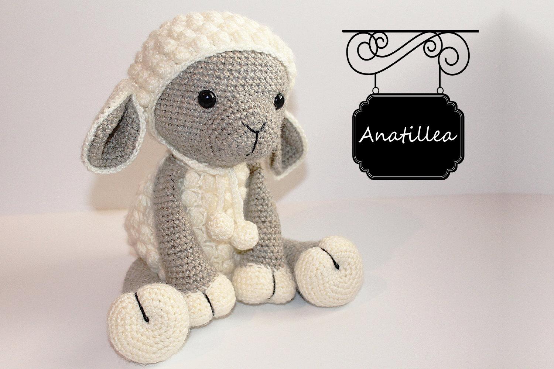 Cute Amigurumi Knitting Patterns : Pattern sheep lamb amigurumi sheep amigurumi lamb