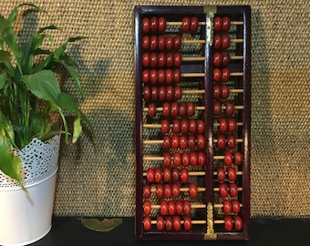 Vintage Wooden Abacus / Home decor