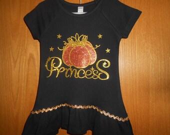 Pumpkin Princess  t Shirt