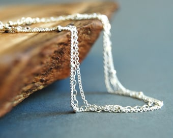 Kaiemi bracelet - triple layered delicate silver bracelet, simple sterling silver bracelet, strand bracelet,  kealoha on maui, hawaii