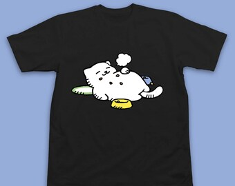 Neko Atsume Tubbs Shirt