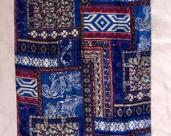 Multi Colored Single Thread Silk Scarf