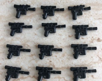 DL 44 Custom blaster weapons pack of 12 works with Lego mini-figures!