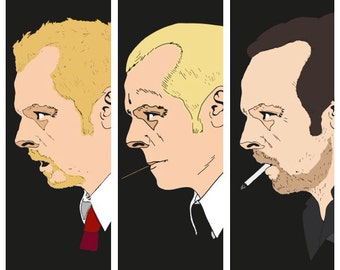 Simon Pegg Cornetto Trilogy series