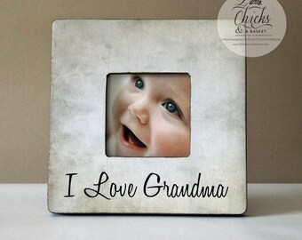 Nana Grandmother Grandma Gift Personalized Picture Frame From
