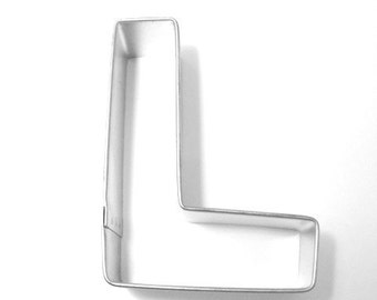 Capital Letter L - 3 inch Cookie Cutter