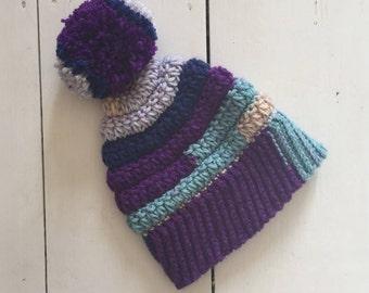 Children's Pom Pom Starburst hat