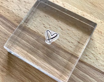 Acrylic stamping blocks // clear stamps // stamp block