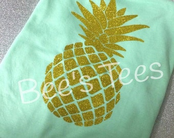 Pineapple shirt, Pineapple Tank, Be a Pineapple Tank, I love Pineapple Tanks, Be a pineapple shirt, Summer Tank, Bathing suit cover up