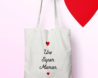 X435Y tote bag MOM, custom tote bag, tote bag, mothers day bag, shopping bag, bag courses, diaper bag, tote bag, bachelorette party