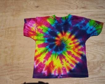 2T Happy Spiral Tie Dye Toddler