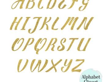 Gold glitter alphabet digital clip art golden font clipart buy 2 get 1 free matte gold texture alphabet clipart digital alphabet cursive letters and numbers 26 png 300 dpi altavistaventures Gallery