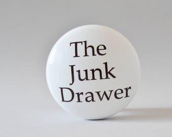 The Junk Drawer Knob, Novelty Drawer Knob, Handles, Drawer Pulls, Dresser Knobs, Dresser Pulls.