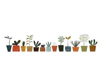 Plants print