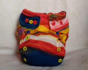 One size cloth diaper Pocket TE1 or TE2-