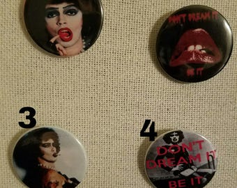 Rocky Horror Picture Show pins