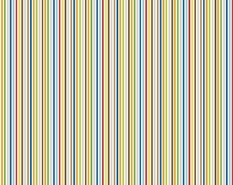 Riley Blake Designs 'Rover Stripes' Fabric By The Yard; Rover by Bella Blvd, C5215 Multi