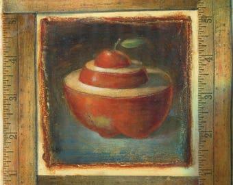Apple [original painting]