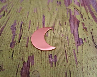 """Copper Moon 1"""" Stamping Blanks - Copper Blanks"""