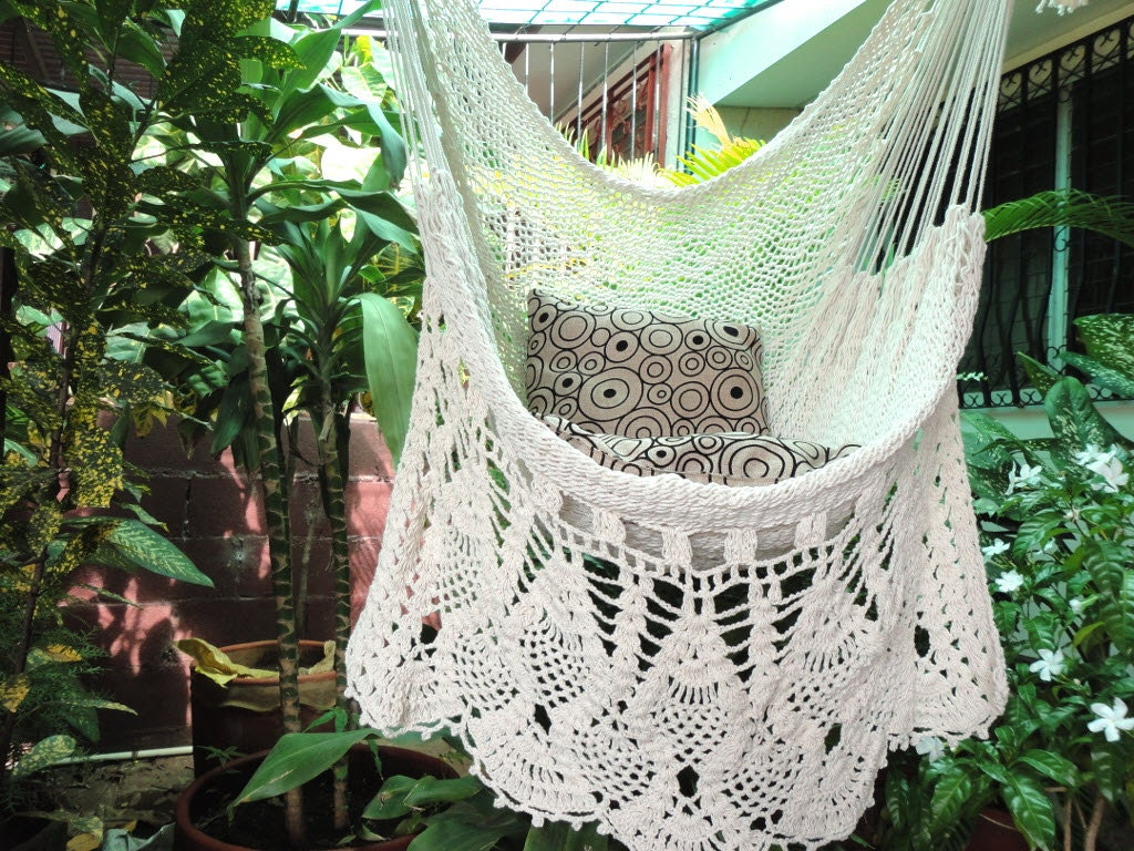 porch hammock pad homemade chairs hanging macrame medium stand small tree of chair cool size seat