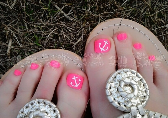 Items similar to Assortment of Anchor Toenail Decals in Color of choice 20  total on Etsy - Items Similar To Assortment Of Anchor Toenail Decals In Color Of