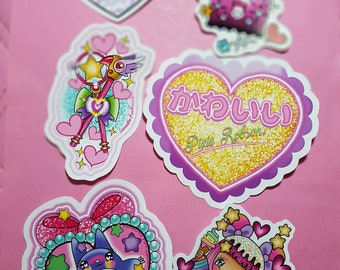 kawaii sticker packs