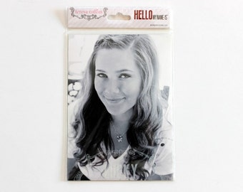 Hello My Name is. Teresa Collins Photo Overlays, Scrapbooking Supply, Photo Embellishments, Pocket Scrapbooking, Document Your Life