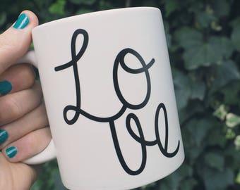 Love White Mug