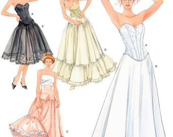 5006 Simplicity Bridal Lingerie, Bride Undergarments, Victorian Under Garments, Corset, PettiCoat and Underskirt
