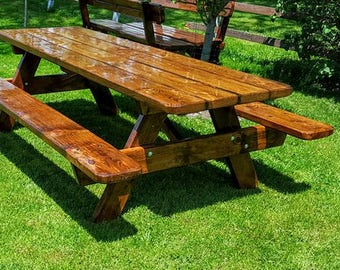 6' Solid Wood Picnic Table FREE SHIPPING!!!