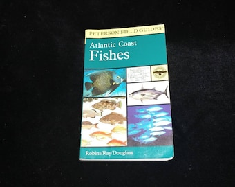 Atlantic Coast Fishes Peterson Field Guides Robins Ray Douglass