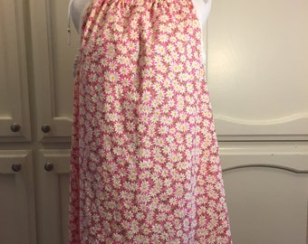 Size 10 A-line Sun Dress/Drawstring Dress/Nightie/Tunic
