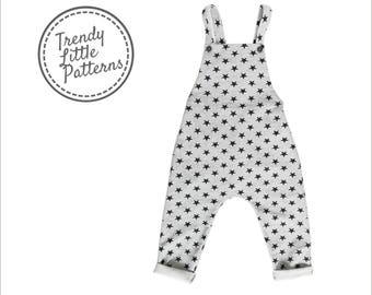 Romper for boys pattern, Romper pattern PDF, Boys pants pattern, Patterns for boys, Harem pants pattern, kids pattern, sewing patterns