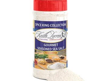 Keith Lorren's Gourmet Seasoned Sea Salt (2pack)