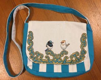 Fairy Wren Satchel Bag