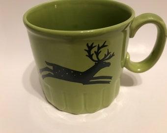 Royal Alma Rare Reindeer Mug// Vintage Royal Alma