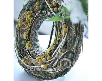 Spring Wreath - Easter Wreath - Summer Wreath -Mothers Day Wreath -Home Decor