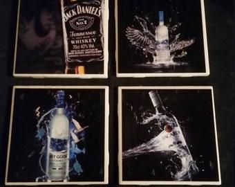 Liquor Coasters